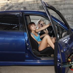 Мария и Натали фотосет с Toyota Altezza