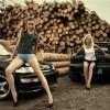 Мария и Татьяна, а так же Subaru Impresa WRX (Феникс) и Honda Civic