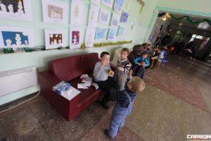 """Новогодняя поездка в """"Социально-реабилитационный центр для несовершеннолетних Иркутского района"""", находящийся в поселке Урик."""