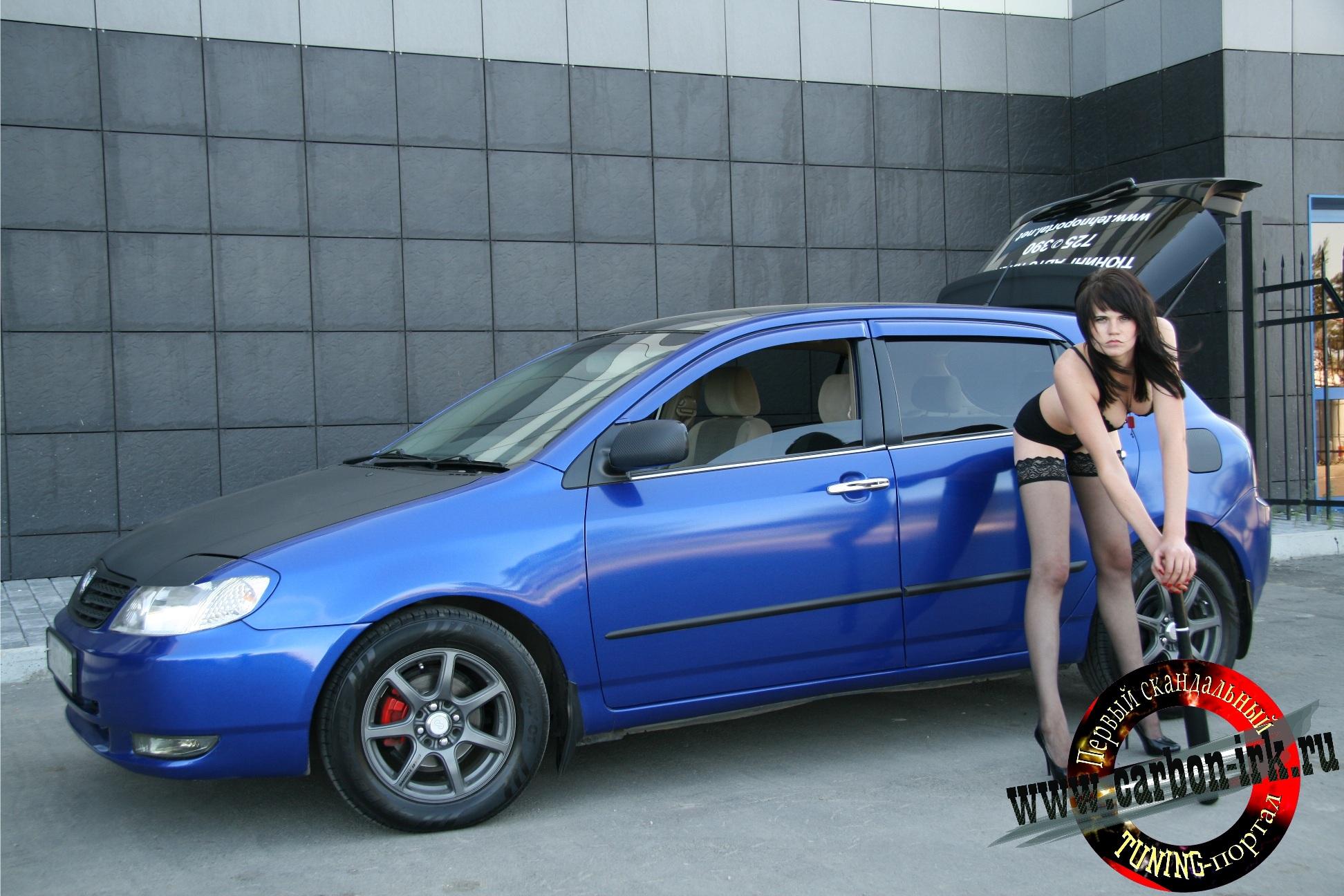 Евгения и Toyota Allex