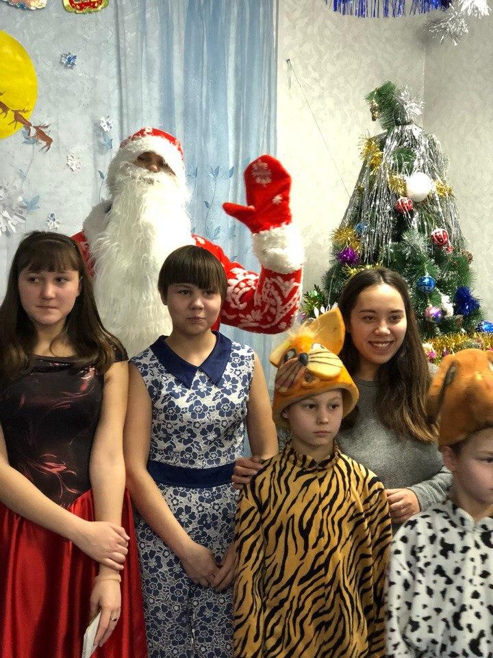 Новогодняя поездка в «Социально-реабилитационный центр для несовершеннолетних Иркутского района», находящийся в поселке Урик 23.12.2017